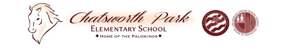 Chatsworth Park Elementary School  Logo
